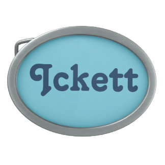 Belt Buckle Ickett