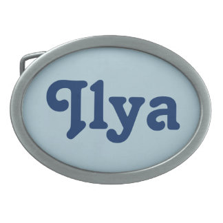 Belt Buckle Ilya