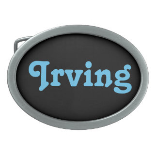 Belt Buckle Irving