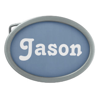 Belt Buckle Jason