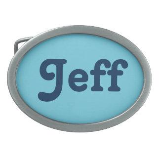 Belt Buckle Jeff