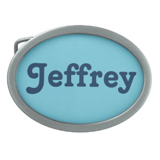 Belt Buckle Jeffrey