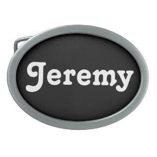 Belt Buckle Jeremy