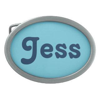 Belt Buckle Jess