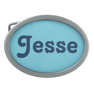 Belt Buckle Jesse