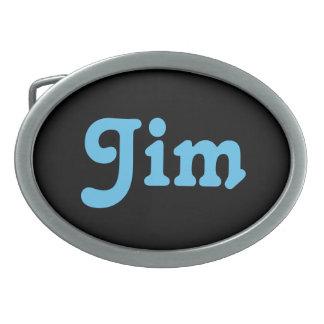 Belt Buckle Jim