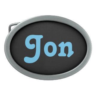 Belt Buckle Jon