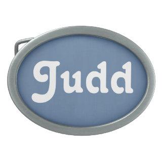 Belt Buckle Judd