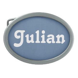 Belt Buckle Julian