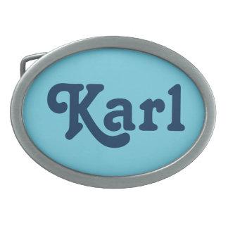 Belt Buckle Karl
