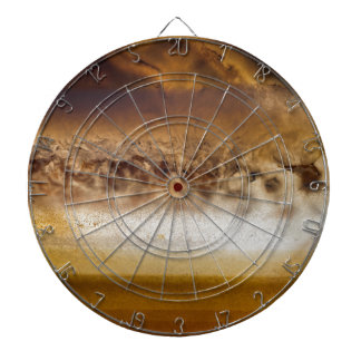 Belt of Jupiter Geode Dartboard With Darts
