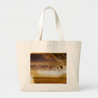 Belt of Jupiter Geode Large Tote Bag