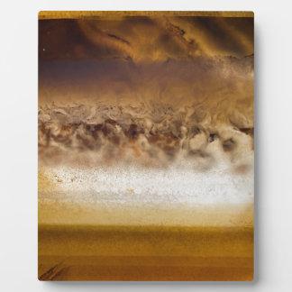 Belt of Jupiter Geode Plaque
