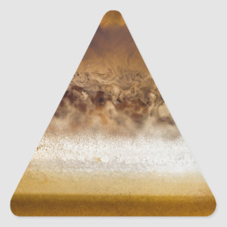 Belt of Jupiter Geode Triangle Sticker