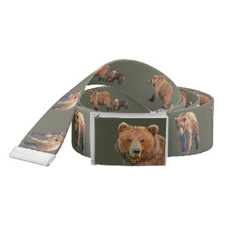 belt w/ grizzlies on both sides.