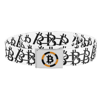 Belt with Bitcoin chains