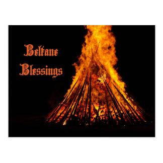 Beltane Blessings Post Card