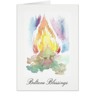 Beltane Fires Greeting Cards