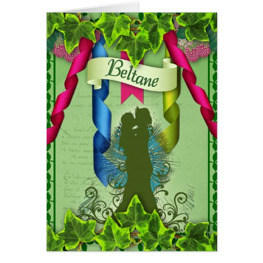 Beltane Pagan Greeting Card