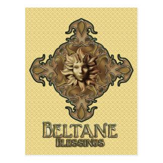 Beltane Sun Sprite Postcard