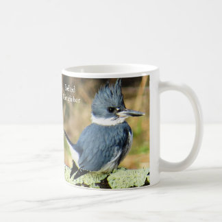 Belted Kingfisher Mug by BirdingCollectibles