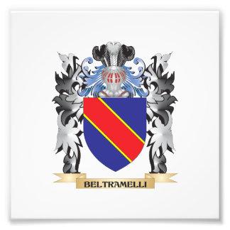 Beltramelli Coat of Arms - Family Crest Photo Art