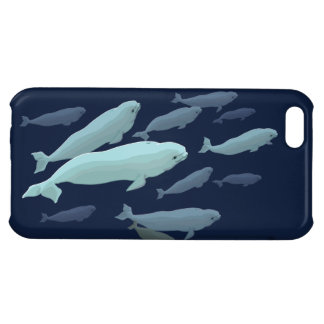 Beluga Whale iPhone5 Case Whale Smartphone Cases iPhone 5C Case