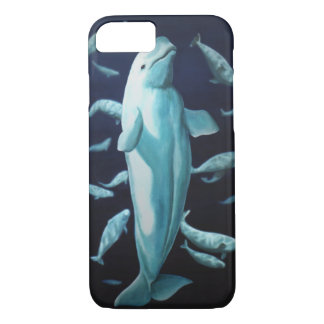 Beluga Whale iPhone 7 Case Whale Smartphone Cases