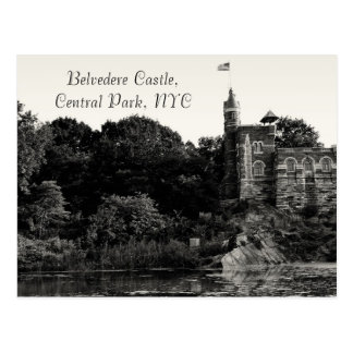 Belvedere Castle, Central Park NYC Postcard