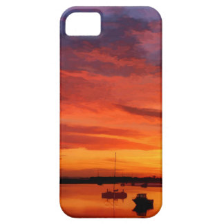 Bembridge Harbour 0430 iPhone 5 Cover