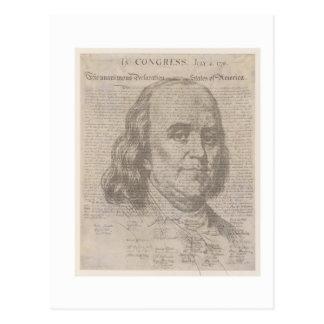 ben and the declaration postcard
