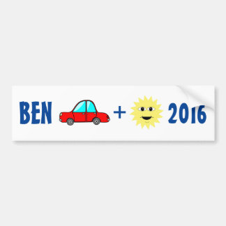 Ben Carson 2016 bumper sticker