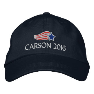 Ben Carson 2016 Political Conservative Embroidered Hat