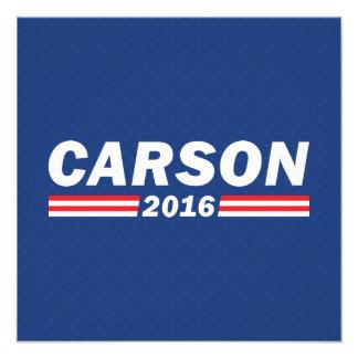 Ben Carson, Carson 2016 Photograph