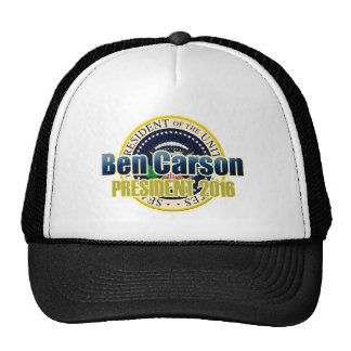 Ben Carson for President Cap