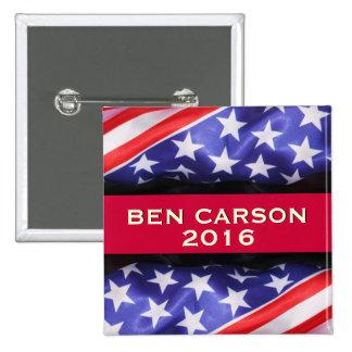 Ben Carson in 2016 Campaign Bumper Sticker 15 Cm Square Badge