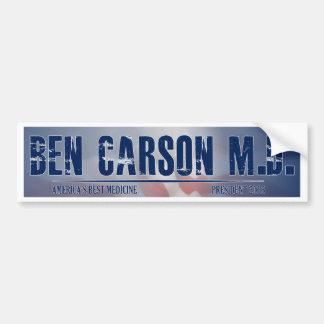 Ben Carson M.D. for President Bumper Sticker