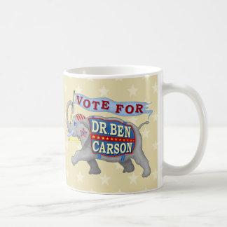 Ben Carson President 2016 Republican Elephant Coffee Mug