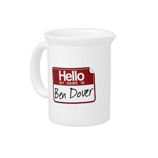 BEN DOVER PITCHER