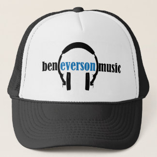 Ben Everson Music logo looks classic! Trucker Hat