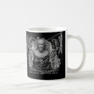 Ben Franklin, a Hero, on Liberty & Security Mug