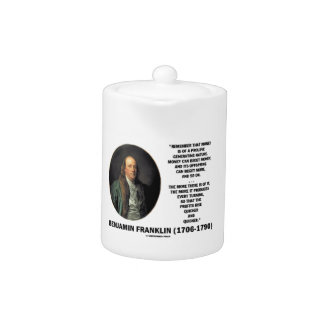 Ben Franklin Money Prolific Generating Nature