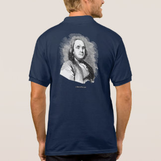 Ben Franklin Portrait Polo T-shirt