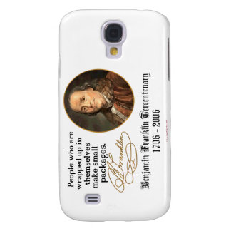 Ben Franklin - Small Packages Samsung Galaxy S4 Case