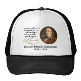 Ben Franklin - Small Packages Hats