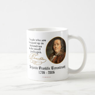Ben Franklin - Small Packages Coffee Mugs