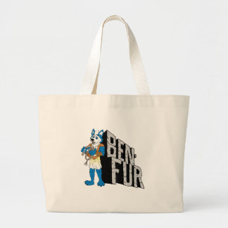 Ben-Fur Large Tote Bag