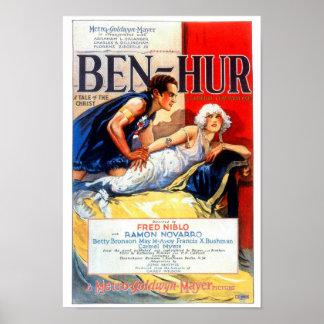 Ben Hur Silent Film Poster