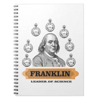 Ben Leader of science Notebooks