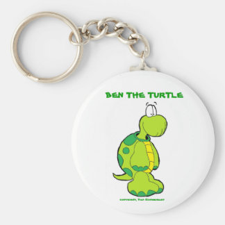 Ben profile pic, BEN THE TURTLE, copyright, Dan... Key Ring